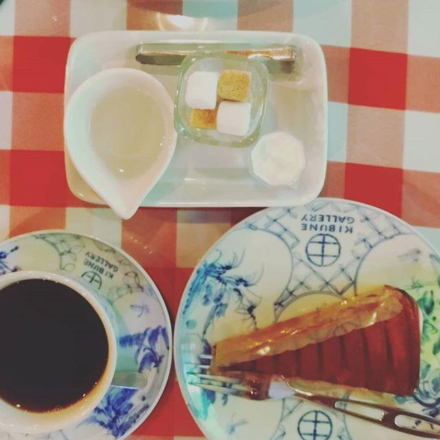 貴船神社近くのカフェ。